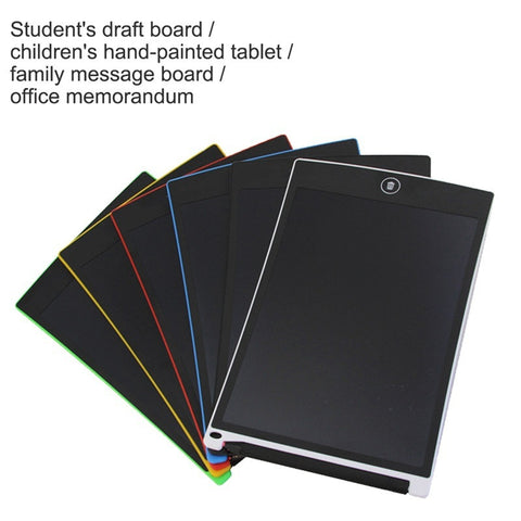LATEST! 8.5 Inch Writing Tablet Board with LCD Crystal Display - Working Notepad for Office - UpTechMart