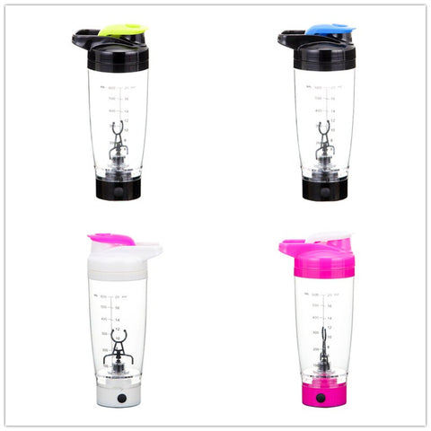 SMART! 600ml Electric Automation Protein Shaker Blender Bottle Coffee Milk Shake Smart Mixer - UpTechMart