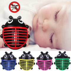 BEETLE Shaped Electric LED Anti Mosquito Repeller Fly Insect  Repellant