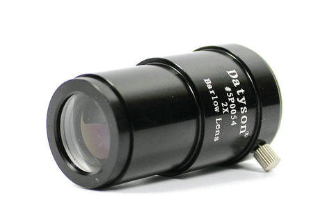 MONOCULAR Full Metal 2x Barlow Lens 1.25''(31.7mm) 2 Times Magnification Astronomical Telescope Eyepiece - UpTechMart