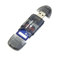 High Quality Portable High Speed USB Memory Card Reader Writer Adapter MMC SD SDHC Card - UpTechMart