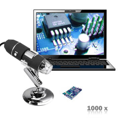 UNIQUE! 2MP 1000X USB Stand Device USB Digital Microscope - UpTechMart