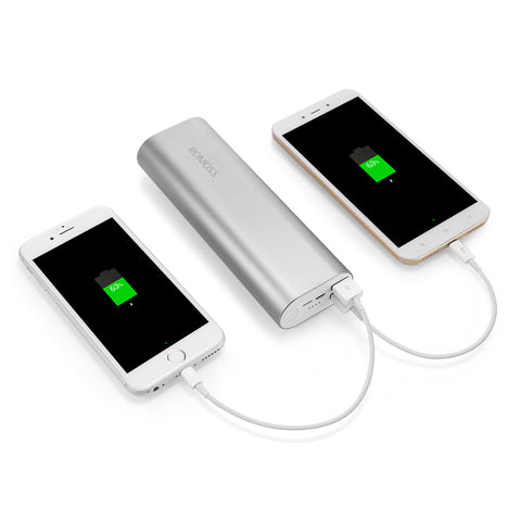 ACE20 20000mAh Power Bank 8 Pin Micro USB 2.1A Fast Charging Battery Charger - UpTechMart