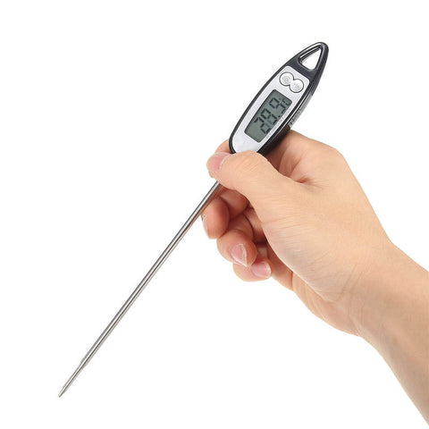 SUPER Kitchen Gadget! Digital Probe Cooking Thermometer Food Temperature Sensor LCD Display For BBQ - UpTechMart