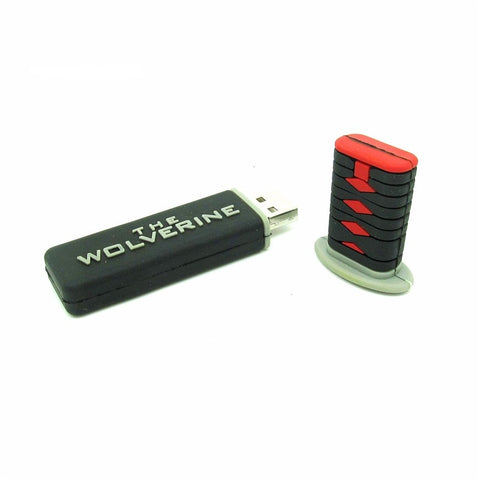The WOLVERINE Samurai Mini Katana Sword Flash Drive Disk Memory Stick 16gb 32gb Pen Drive - UpTechMart