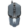 Image of TEAMWOLF! Laser Changeable Gaming Mouse 4000dpi Backlight Metal USB 7 Buttons RGB LED - UpTechMart