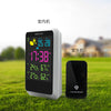 Image of Wireless Weather Station! Digital Weather Forecast Meter Outdoor Thermometer Hygrometer Snooze Clock - UpTechMart