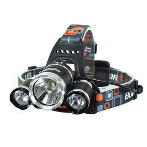 GREAT UTILITY! XML 3*T6 1000LM 4 Modes Single LED Headlamp - UpTechMart