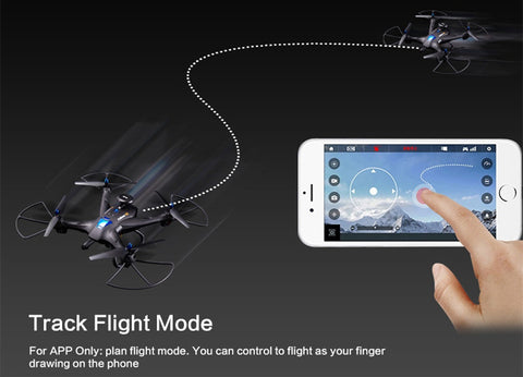 NEW ARRIVAL! Global Drone X183 5.8GHz 6-Axis Gyro WiFi FPV 1080P Camera Dual-GPS Quadcopter - UpTechMart