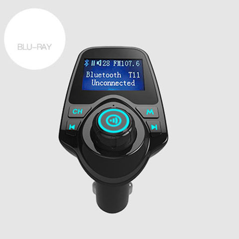 SPECIAL! Bluetooth Car Kit FM Transmitter, Receiver Dual USB Charger Wireless Car MP3 Player - UpTechMart
