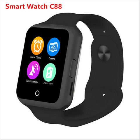 2017 Most Popular Bluetooth Children's Smart Watch Phone C88 Sync Intelligent Clock Support SIM - UpTechMart