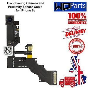 "For iPhone 6S 4.7"" Front Facing Camera Proximity Sensor With Mic Flex Cable UK"