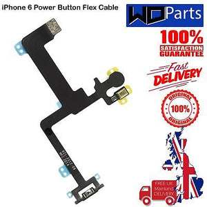 "For iPhone 6 Plus 5.5"" Power Flex - Lock Ribbon On Button Cable Apple"