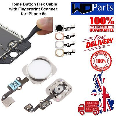 Home Button Flex Cable Touch ID Assembly For Apple iPhone 6s