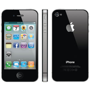 Apple iPhone 4 Black 16GB Vodafone/TalkTalk/Lebara GRADE C Smartphone