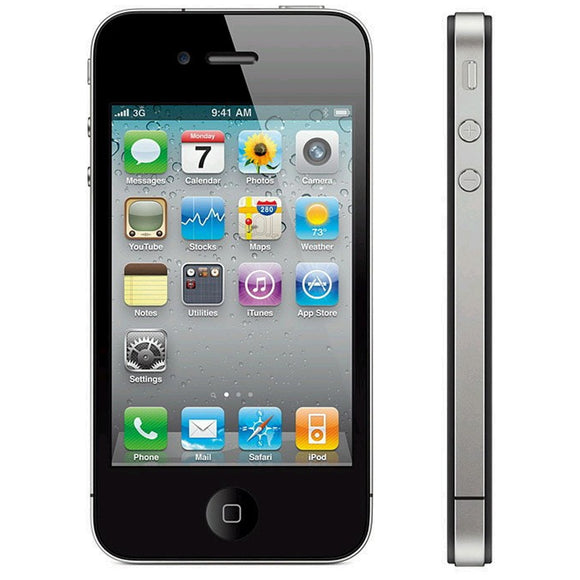 Apple iPhone 4S Black 8GB Vodafone/TalkTalk/Lebara GRADE C Smartphone