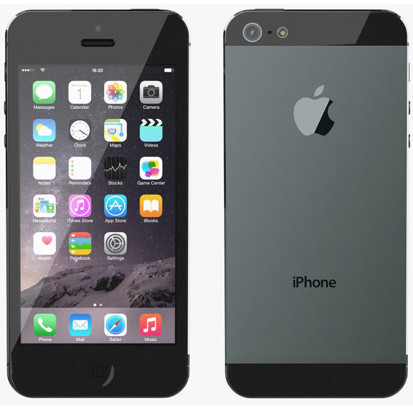 Apple iPhone 5 Black 16GB Unlocked/Sim Free [PRISTINE] GRADE A Smartphone