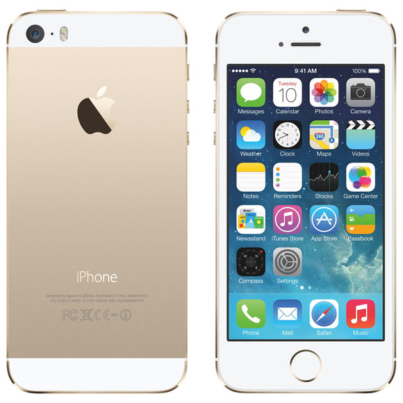 Apple iPhone 5S Gold 16GB Vodafone/TalkTalk/Lebara [PRISTINE] GRADE A NO TOUCH ID Smartphone
