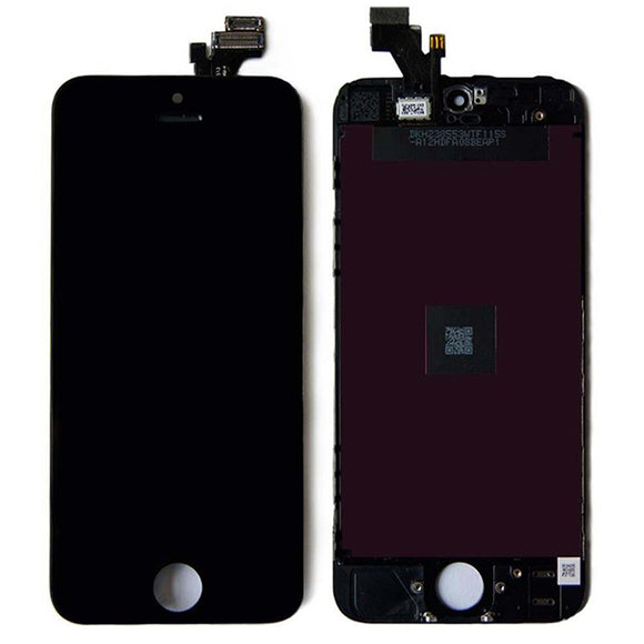 iPhone 5 LCD Digitizer Touch Screen Display Frame Assembly Replacement BLACK | WHITE