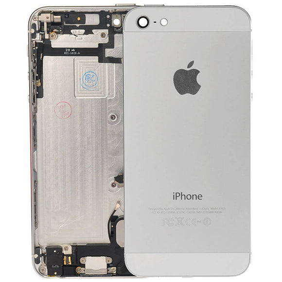 Complete Back Cover Housing Assembly Replacement Pre Assembled - iPhone 5 BLACK | SILVER