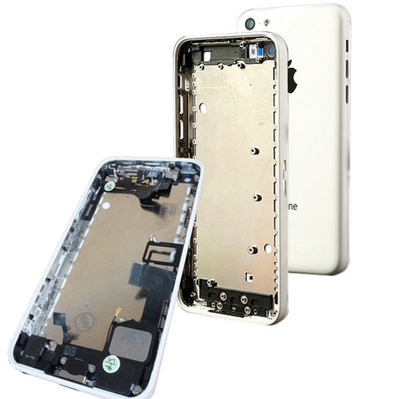 Complete Back Cover Housing Assembly Replacement Pre Assembled iPhone 5c
