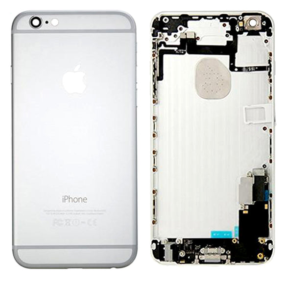 For iPhone 6 Plus Complete Back Cover Housing Assembly Replacement Pre Assembled SILVER | GOLD | SPACE GREY