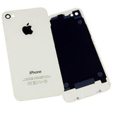 Replacement Glass Back Battery Cover Housing For iPhone 4 4G BLACK | WHITE