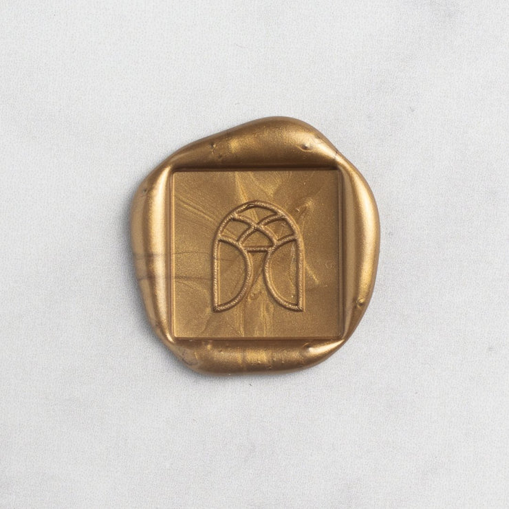 Square Custom Wax Stamp