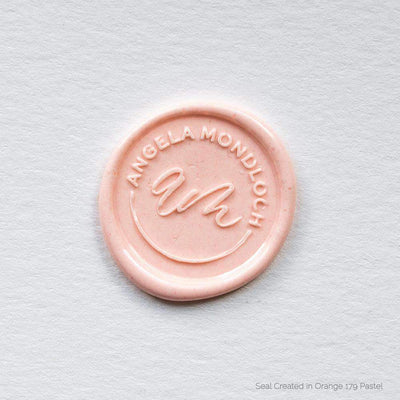 Deluxe Monogram 2 Wax Seals