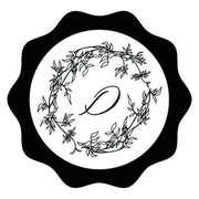 Arbor Wreath Single Initial Wax Seals