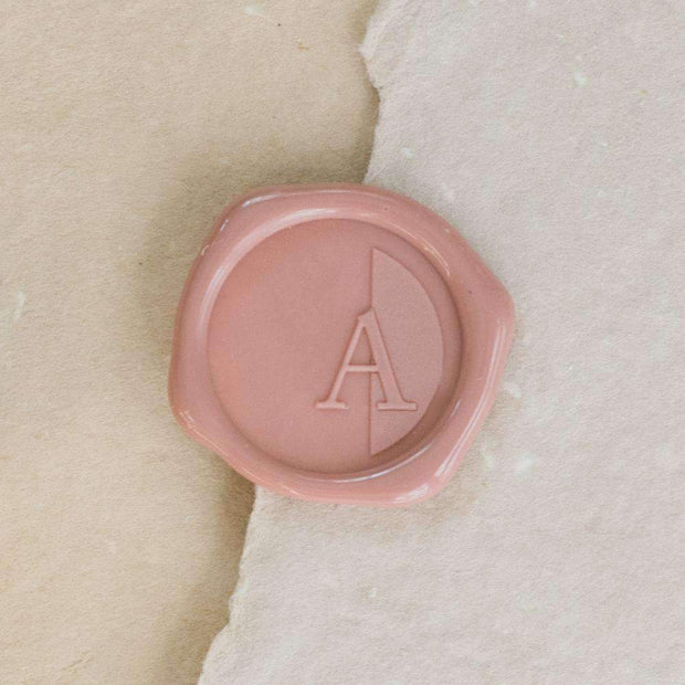 Audrey Single Initial Wax Seals