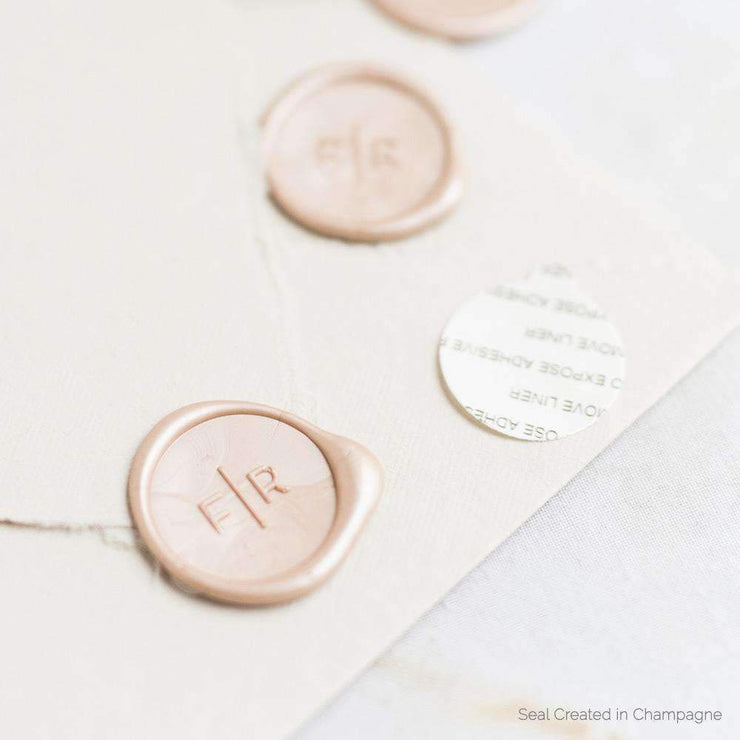 Cleo Monogram Wax Seals