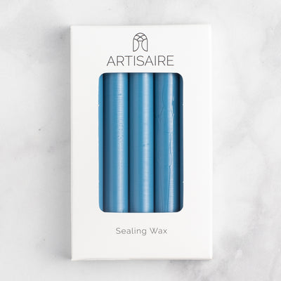 Recycled Edition: Blue Suede Sealing Wax Sticks