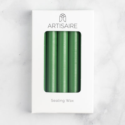 Recycled Edition: Matcha Sealing Wax Sticks