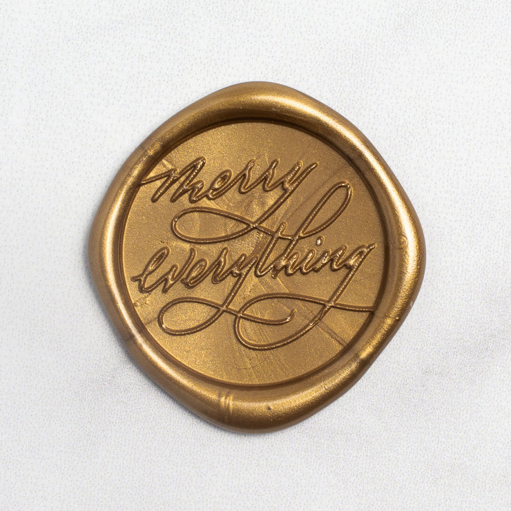 Merry Everything Wax Stamp