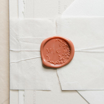 Lena Monogram Wax Seals