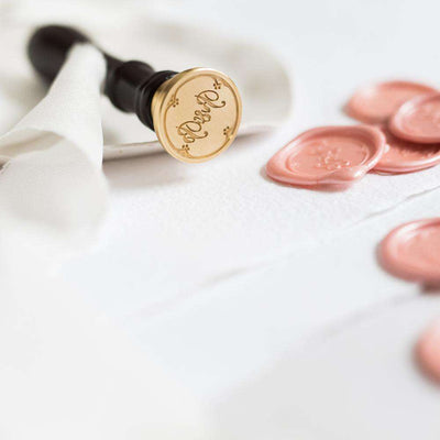 Monogram Wax Seal