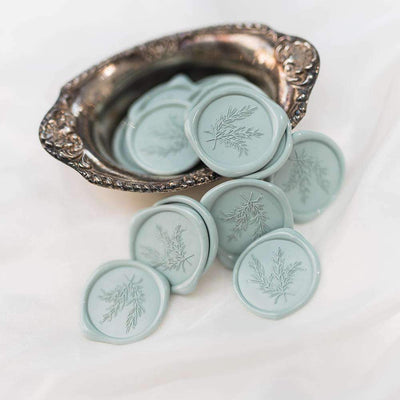 Rosemary Wax Seals - 25 Pack
