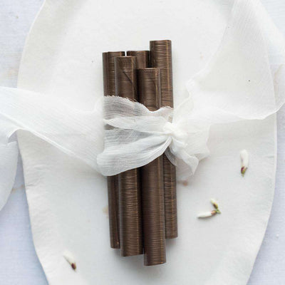 Pearl Chocolate Sealing Wax (5 Pack)