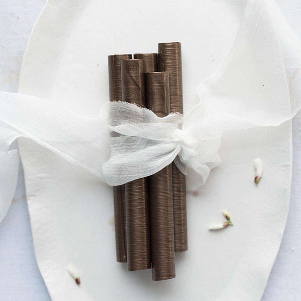Pearl Chocolate Glue Gun Sealing Wax