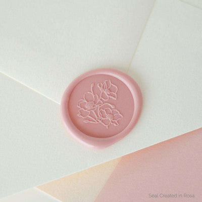 Poppy Wax Stamp
