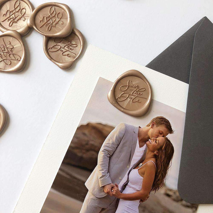 Save The Date Wax Seals - 25 Pack