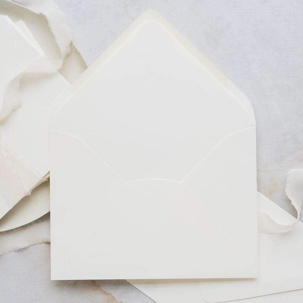 Soft White Envelopes (10 Pack)