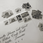 Traditional Vintage Stamp Collection