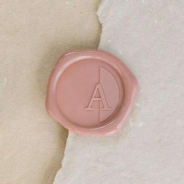 Audrey Single Initial Wax Stamp
