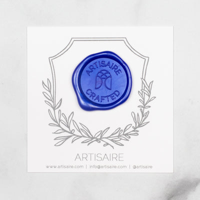 Blue Quartz Sealing Wax Swatch