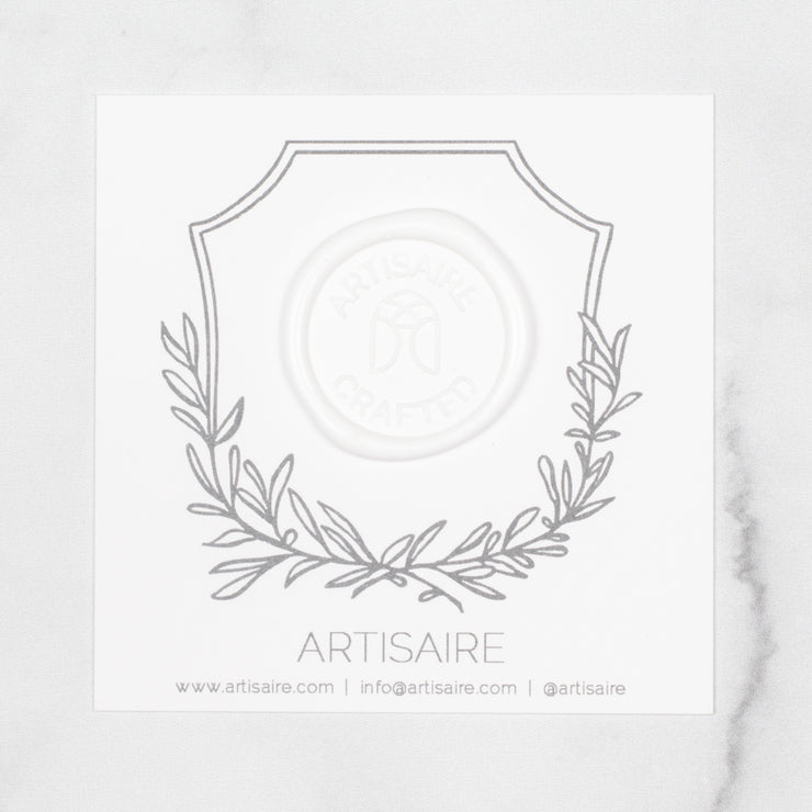 Bright White Sealing Wax Swatch