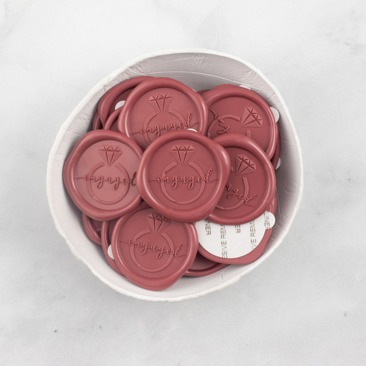 Engaged Wax Seals - 25 Pack