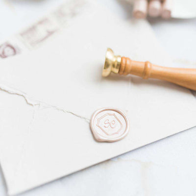 Bella Monogram Wax Stamp