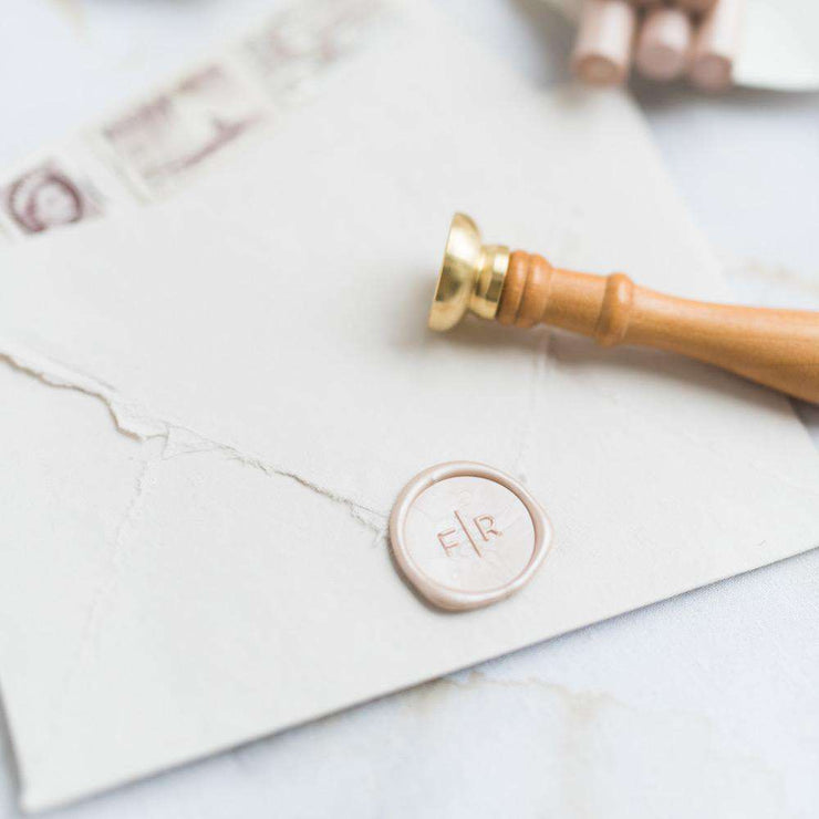 Cleo Monogram Wax Stamp